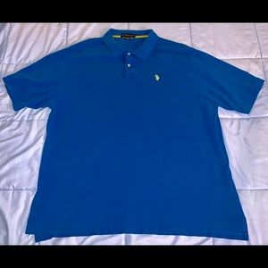 U.S. Polo ASSN. Blue Polo Shirt